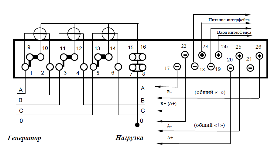 Схема подключения квартирного счётчика