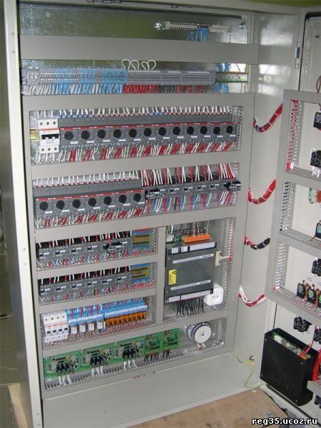 Автоматицеские выключатели в электрощите