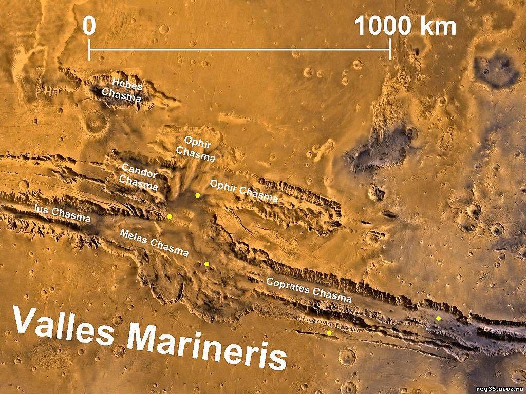 Долина Маринера Марс